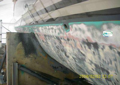 coque carbonne hydrogommage aerogommage