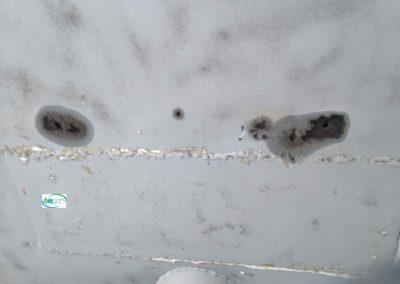 découverte d électrolyse après sablage coque aluminium